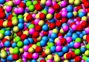 Ball Pit 1: A vivid mass of colourful balls make a great texture, or could be a child's ball pit. You may prefer:  http://www.rgbstock.com/photo/mTigKKE/Otherworld+Orbs+1  or:  http://www.rgbstock.com/photo/nokQTsC/Bubblegum+Machine