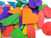 Colorful Wood Craft Items