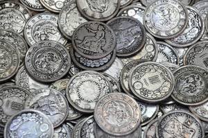 old coins texture