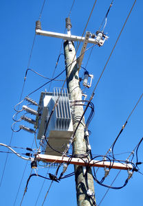 wired for power1: electricity poles, transformers and wiring