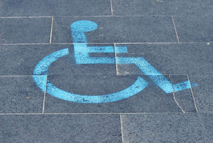 paved disability parking