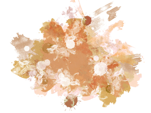 Abstract Splats 5: A grungy watercolour texture - digitally rendered.