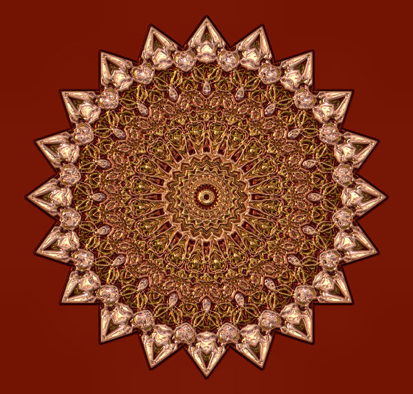 bronzed bloom mandala2