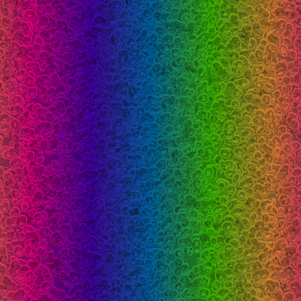 Textured Rainbow Foil 1: Rainbow coloured foil texture, background, fill, etc. You may prefer:  http://www.rgbstock.com/photo/2dyVapI/Textured+Gold+Paper  or:  http://www.rgbstock.com/photo/n3iUDTk/Shiny+Metallic+Background+3