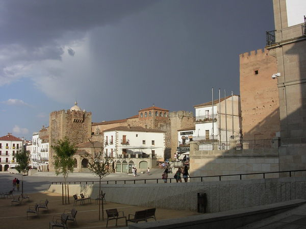 Caceres main square