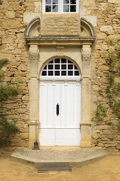 French chateau door