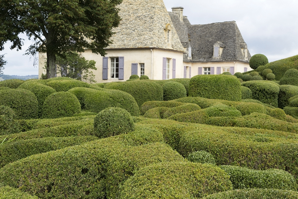 Topiary and chateau