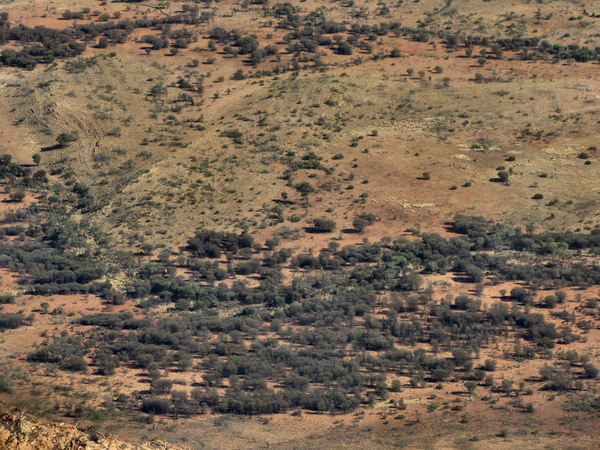 Gosse Bluff impact crater23: huge celestial impact crater in Central Australia
