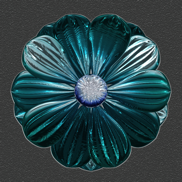 Metallic Flower 3: A very high resolution metallic flower on a dark background. You may prefer:  http://www.rgbstock.com/photo/2dyXlMV/Stained+Glass+Flowers  or:  http://www.rgbstock.com/photo/nZ6Yl2c/Ornate+Floral+Border