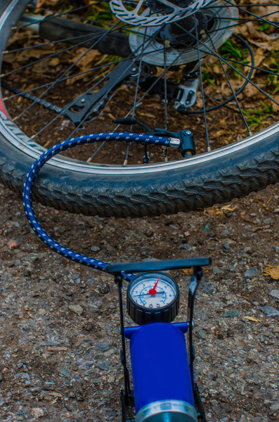 Bicycle Pump: Pumping Up Bicycle Tire