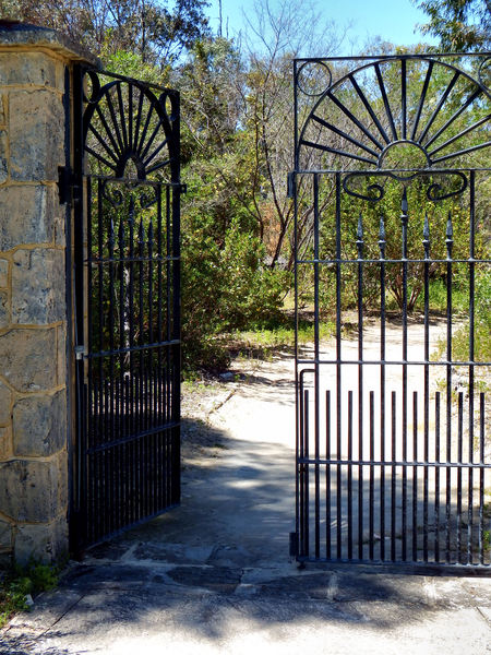 through the gates2: park entrance gates