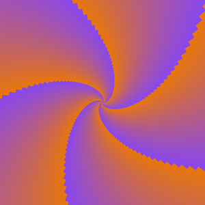 Two Colour Spiral 2