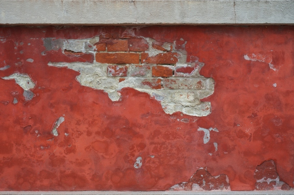 Texture - Red plaster: Texture - Flaking red plaster