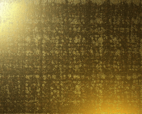Battered Gold Texture: Battered gold metal texture.