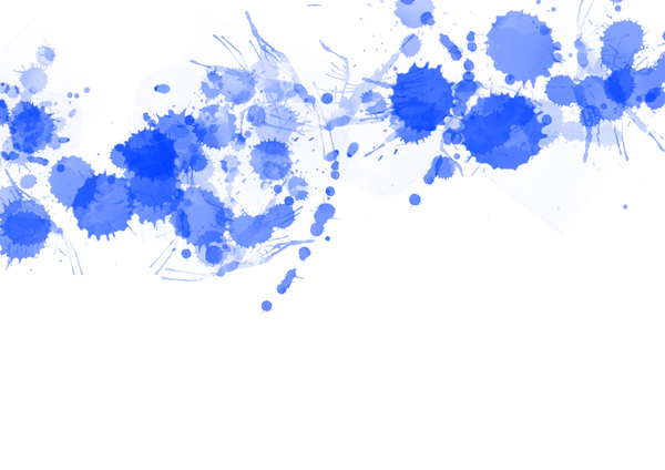 Blue Splats