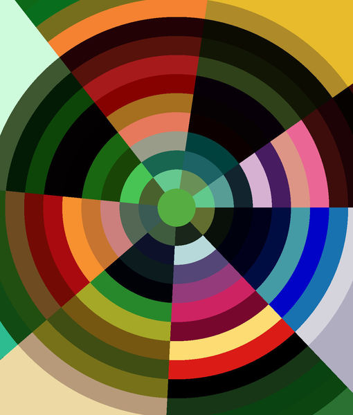 multicolored bullseye1