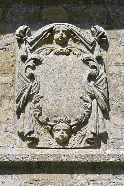 Church wall plaque