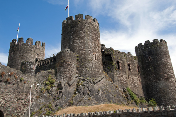 Conwy Castle: Conwy Castle, Wales, UK