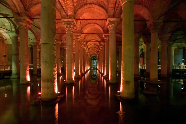 Cisterns, Istanbul: The famous underground cisterns of Istanbul.