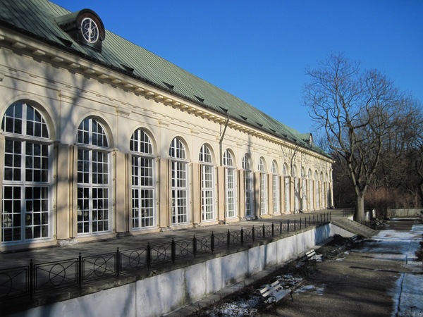 Old Orangery in Warsaw