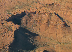 inland terrain 5-16: central Australian terrain seen from above