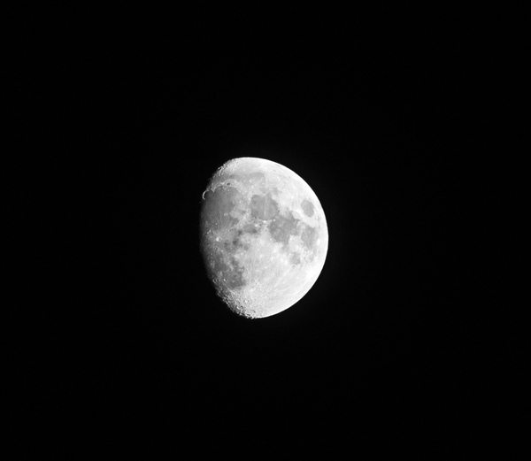 The moon 3