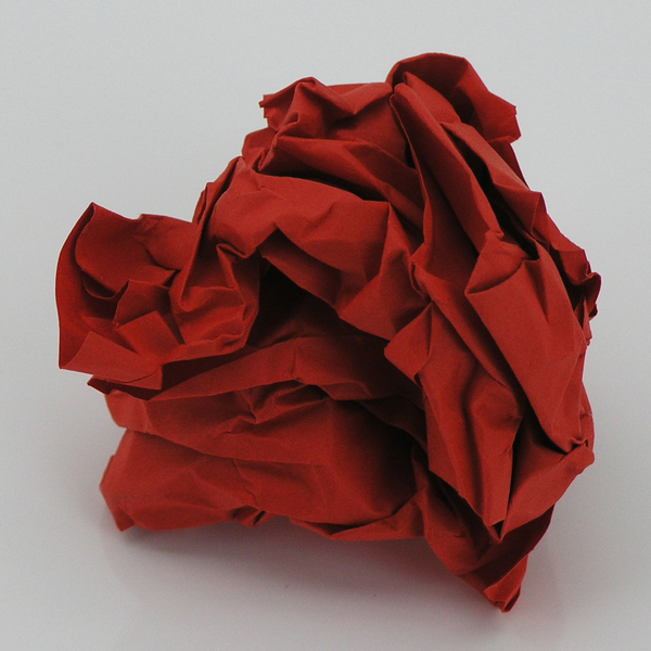 Red paper