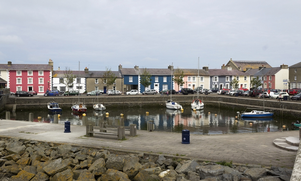 Harbour and houses