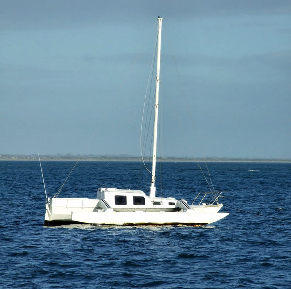 moored trimaran1