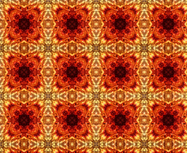 glazed orange tiling1