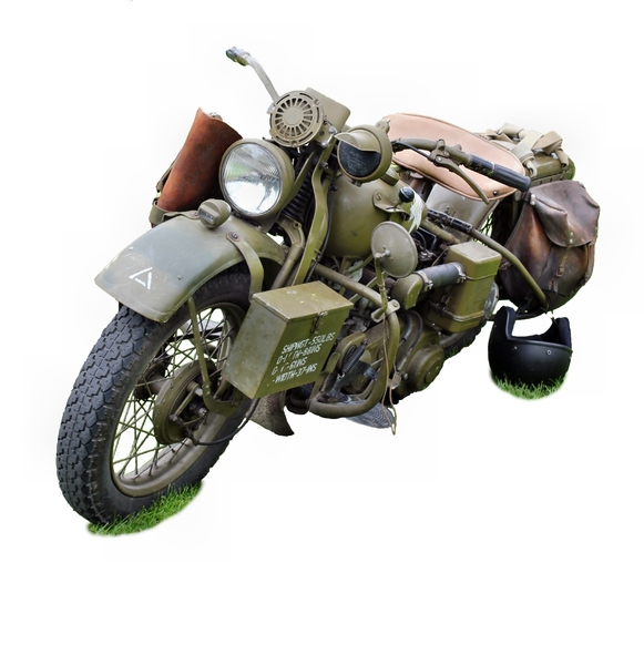 Wartime Motorcycle