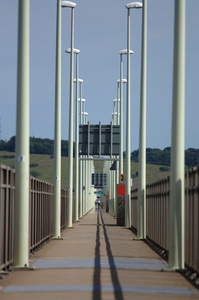Tay Bridge: Pedestrians