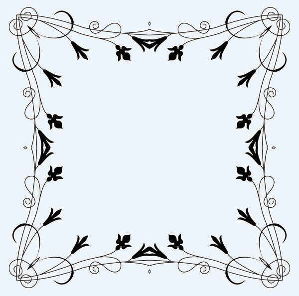 Ornate Vintage Frame 2