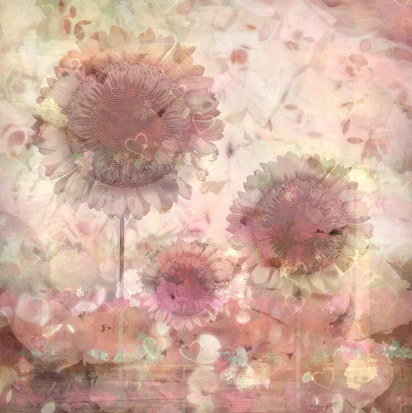 Floral Collage 1: A pretty collage of hearts and flowers in warm pastel colours. You may prefer:  http://www.rgbstock.com/photo/nVCpba2/Wildflower+Collage+3  or:  http://www.rgbstock.com/photo/nYarUR2/Floral+Grunge+Background+1