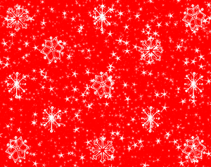 Stars Snowflakes Background 9