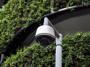 secure CCTV1: external community cctv security camera