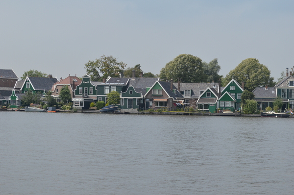 houses in the Zaanse Schans