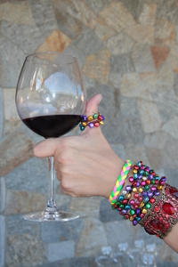 Red wine & adornments