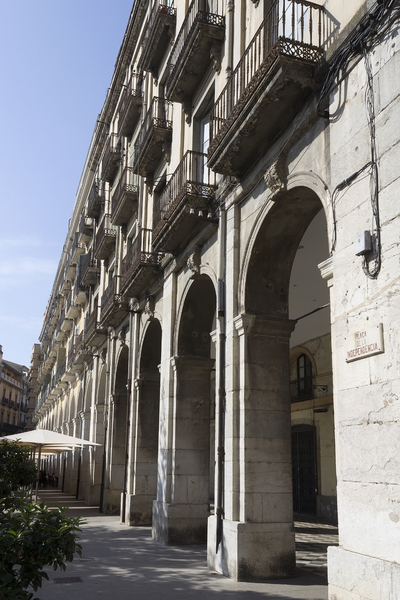 Old colonnade