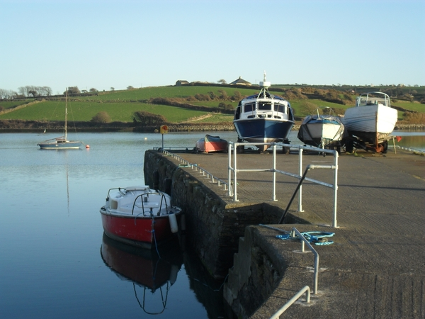 Boats at rest: Fishing boats in West Cork