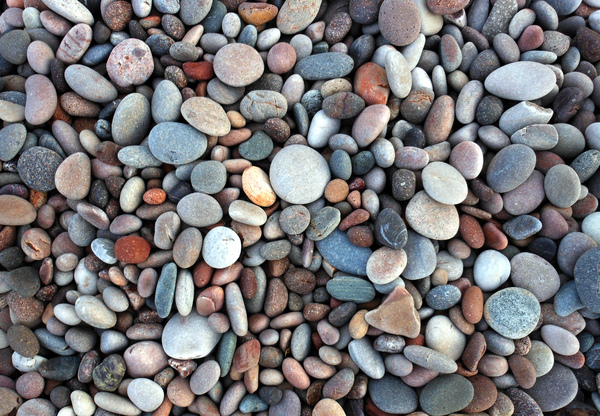 Local Pebble Beach: Inverbervie Beach, Scotland