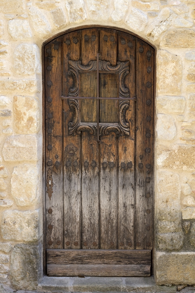 Old Spanish door