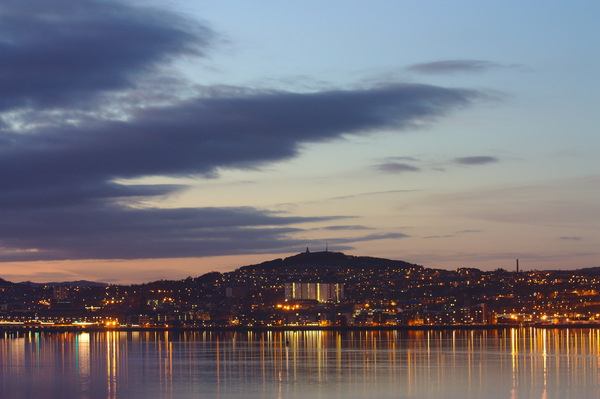 Dundee Night Skyline