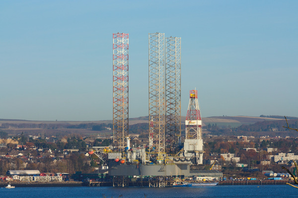 Oil Rig on Tay