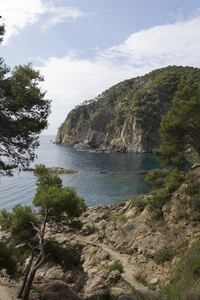Costa Brava headland: A headland of the Costa Brava, Spain.