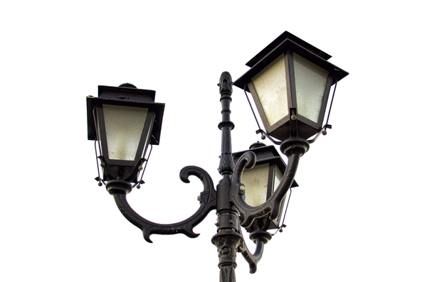 street lamp: street lamp isolated
