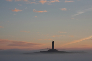 The tower over the fog