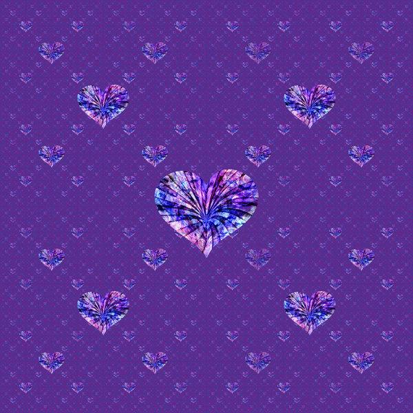 Geometric Heart Pattern 2