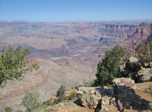 Grand Canyon landscape 2: Grand Canyon showing all it's colours