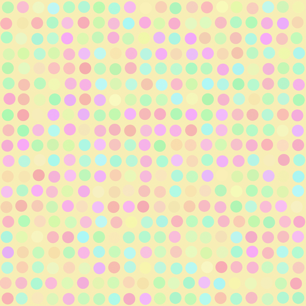 Coloured Spots 4